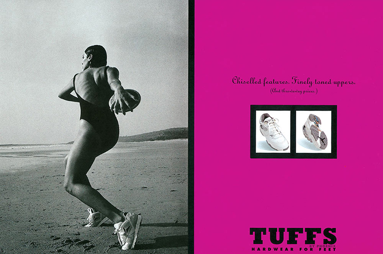 Tuff Shoes Controversial Ad